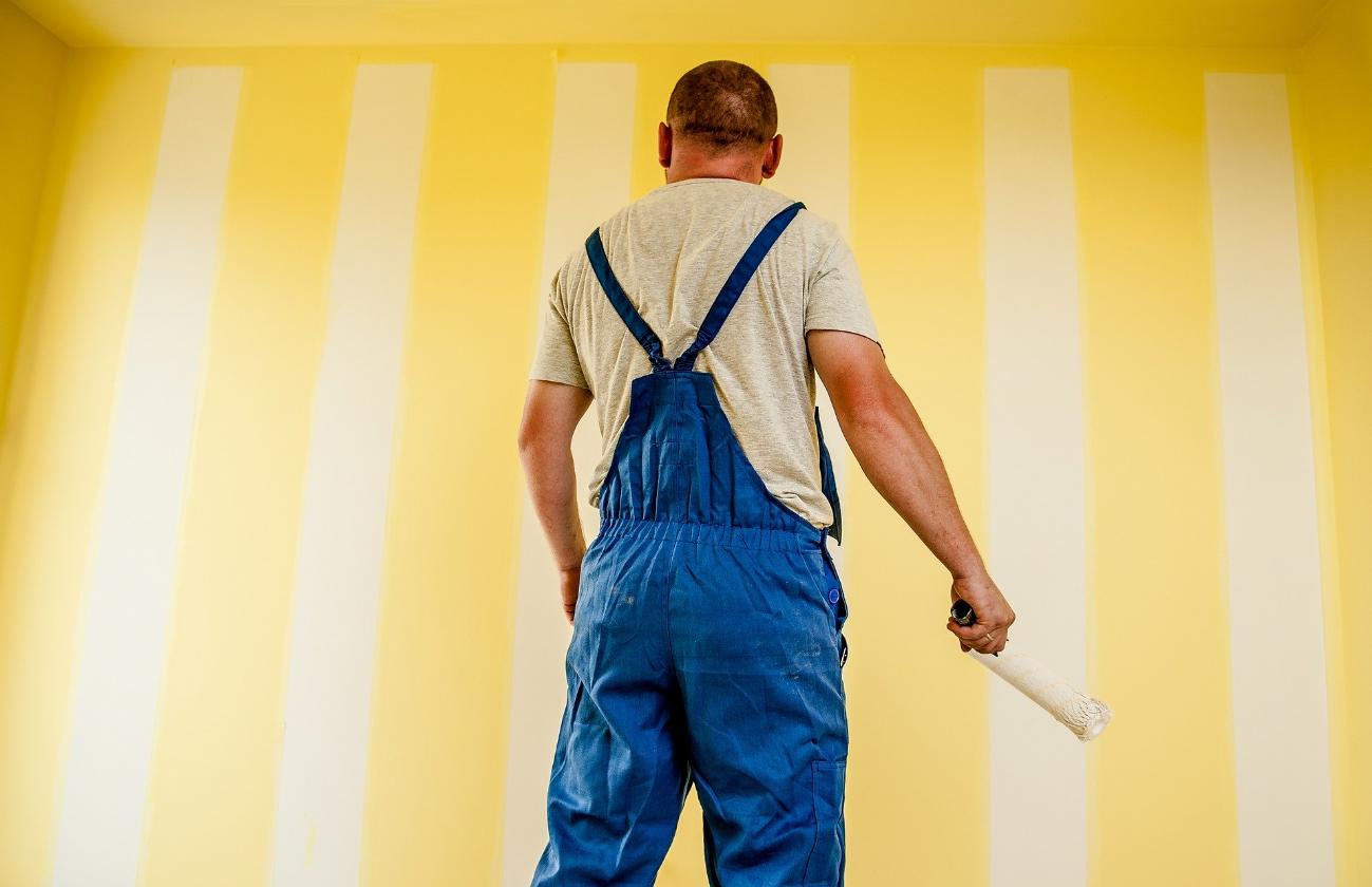 Così la tinteggiatura dona colore alla tua casa