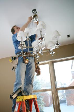 Montaggio professionale lampadari